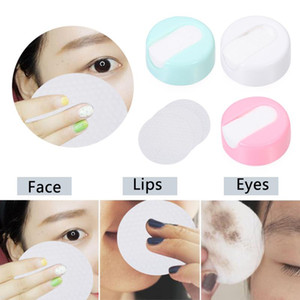 25Pcs box Reusable Cotton Pads Double Layer Synthetic Sponge Makeup Remover Pads Face Towel Make-up Wipes Cloth Skin Care Puff