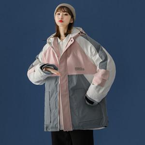 winter women parkas coat puffer bomber jacket plus size clothing toppies za 2021 korean style kpop goth harajuku
