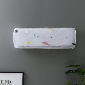 1pc del acondicionador de aire a prueba de agua de lavado de limpieza de la cubierta de polvo limpia Protector cubierta de la bolsa de aire acondicionado