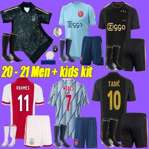 NUOVE 2020 ajax FC maglia di calcio 50th 2020 2021 PROMES VAN DE Beek DAVID Neres TADIC ZIYECH Afc Ajax magliette di calcio