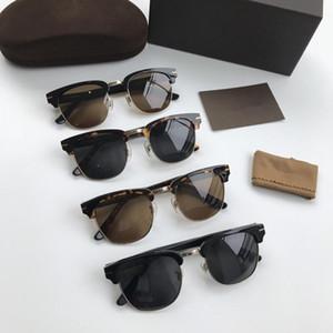 Hotsale Erkek Kaş Kare Polarize Güneş Gözlüğü UV400 51-20-140 Reçete Güneş Gözlüğü Fullset Paket Kutusu için