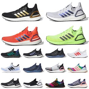 ultra boost 19 ultraboost 20 2021 Yeni Varış Ultraboost 20 Koşu Spor Ayakkabıları Mens Womens Dash Grey National Lab Güneş Kırmızı Volt Siyah Altın Eğitmenler Spor ayakkabılar
