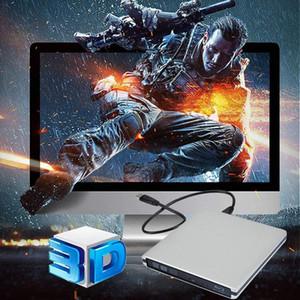 External Blu Ray DVD Drive 3D USB 3.0 Portable Bluray DVD CD Burner RW CD Row for OS Windows 7 8 10 Linxus PC
