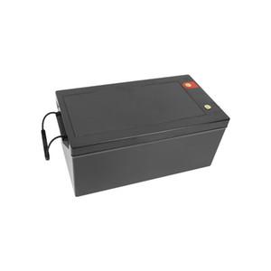 LIFEPO4 12V 200AH 1200W Inverter Forklift AGV Solar Energía Almacenamiento EV UPS Batería de litio 12V 200Ah + 20A Cargador