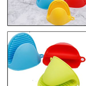 Silicone Heat Insulation Glove Small Non Slip Convenient Gloves Oven Cake Bakeware Microwave Hand Clip Household 1 05mt F2