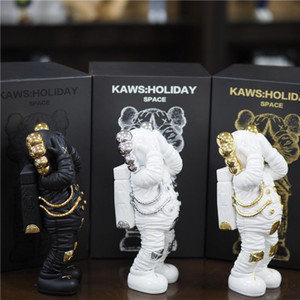 30CM 2.5KG Originalfake KAWS Holiday Spaceman Resin Companion Figure With Original Box KAWS Action Figure model decorations gift