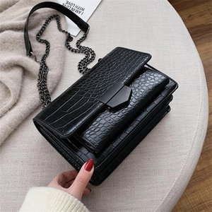 2020 Fashion Stone Pattern Leather Crossbody For Women Sac A Main Shoulder Bag Female Handbags And Purses With Handle Q1104