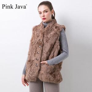 Java Pink Java QC20074 Nueva Llegada WONEM Abrigos de invierno Real Ovejas Chaleco Piel de moda Ropa de piel1