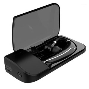 Gdlyl Hands-free wireless Bluetooth Auricolare Bluetooth Cuffie auricolare Auricolari con custodia per auricolari per microfono per1