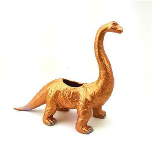 Creative Simulation Brachiosaurus Dinosaur Flowerpot Planter Flowerpot Non-Resin Succulent Plant Eco-friendly Plastic Planter Flower Pot