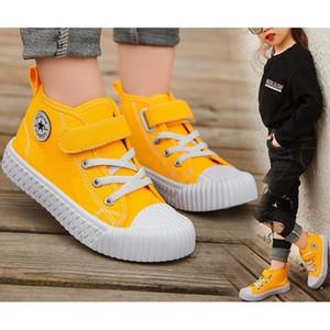 Дети холст обувь мальчики кроссовки для девочек теннис обувь детская обувь малыш осень весенний Chaussure Zapato повседневная Sandq Baby LJ200908
