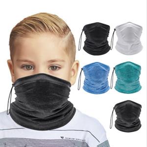 Fashion Kids Face Mask Adjustable Scarf Bandanas Neck Gaiter Headband Tube Face Headscarves Children Outdoor Party Favor