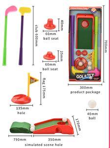 casse-tête de style nouveau jouets de la série de golf cadeau de jouets de sport pour enfants de haute qualité couleur multiple en ABS