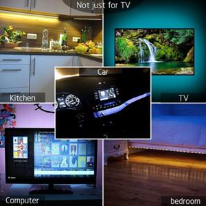 Welpur Battery 5v Usb Led Strip 2835 Dc Led Light Flexible 50cm 1m 2m 5m White Warm For Tv Background Lighting bbyzCt xmhyard