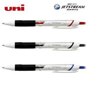 5 шт. / Лот Uni Jetstream Ballpoint Pen Средняя ручка SXN-155 гладкая шариковая шариковая шариковая 0.5 мм Быстрая сушка1