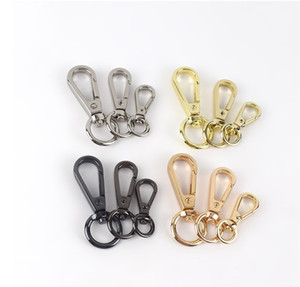 Sac à ressort en métal Sac à ressort Meetéee Boucles Crochet Snap Crochet pour 15 mm 20mm 25mm Strap Copper Horseshoe Boucle de bricolage