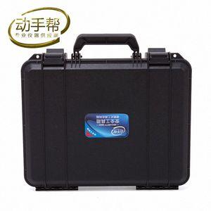 330x250x90mm ABS Ferramenta caso caixa de ferramentas mala Impacto bin resistente kit caso equipamento de segurança selado Hardware frete grátis TmOx #