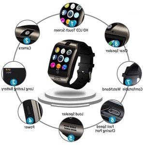 DZLST 2020 Nouvelle Q18S intelligente montre TF carte SIM support Bluetooth Horloge SmartWatch Musique Smart Camera Montres pour IOS Android Phone