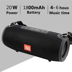 20W اللاسلكية بلوتوث المتكلم كبير في الهواء الطلق سماعات بلوتوث اللاسلكية مضخم الصوت مركز الموسيقى boombox المحمولة 3D ستيريو 1800mAh البطارية