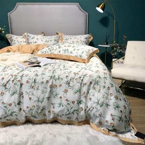 European retro traditional pastoral bedding set,full queen king rustic double home textile bed sheet pillow case quilt cover