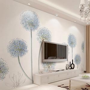 Custom 3D Photo Wallpaper For Walls Modern Simple Dandelion Bedroom Living Room TV Background Wall Large Mural Print