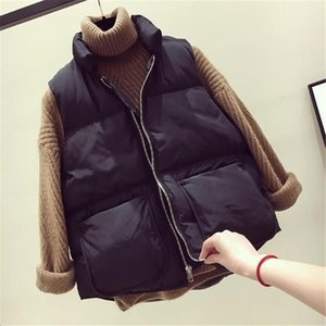 Vest Women Gilet Femme Womens Vest Jackets Plus Size Women Winter Waistcoats Plus Size Bodywarmer Warm Coat