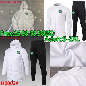 2020 21 Celtic FC Soccer Jerseys Edouard Brown Duffy Taylor Christie Sweater Trajes Sets Hombres adultos Chaquetas de invierno Ropa acolchada de algodón