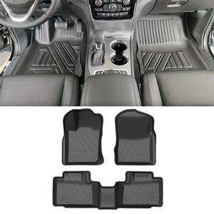 Pour Jeep Grand Cherokee WK2 2011-2020 Tapis de plancher de voiture Tapis TPE tous temps Tapis TPE TPE Tapis odorless PAD imperméabilisable Accessoires intérieurs