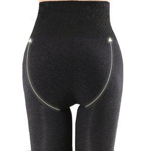 ZJX Inverno Leggings Leggings Pantaloni caldi 10cm Addomestici addensanti ad alta elasticità High Elastic Wamm Thorm Slimming Thorms Thormos Thormos Pants 201203