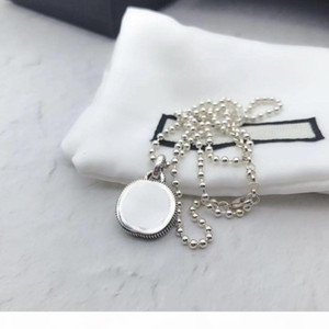 High Quality 925 Sterling Silver Necklace Chain New Products Necklace Unisex Couple Statement Necklace Wild Fashion Jewelry Supply