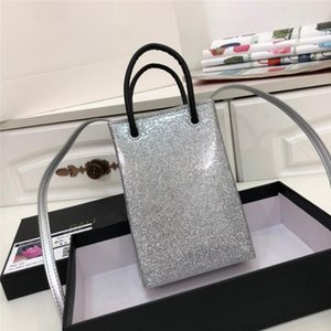 Paris spring fashion catwalk leather square phone bag multi-color trendy must-have designer diagonal female bag