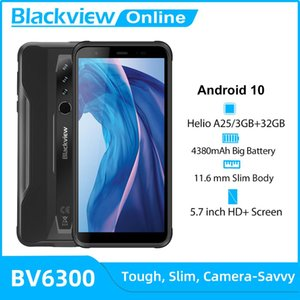 BLACKVIEW New Arrival BV6300 3GB+32GB Android 10 Rugged Smartphone 4380mAh 5.7 inch HD Screen IP68 Mobile Phone NFC Waterproof