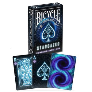 Велосипед Звездочет Deck Poker Размер Стандартного Playing Cards Волшебной карта Реквизит Close Up Крисс для профессионального J190427