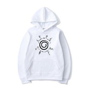 Anime Naruto Hoodies Uzumaki Naruto Printed Hooded Sweatshirt Pullover Men Women Casual Harajuku Streetwear Hip Hop Hoodie Tops X1022