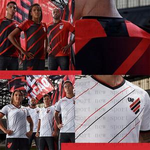 Tailandesa Atlético Paranaense Fútbol 2020 2021 casa los hombres rojos de distancia blanco Hombres MUJERES Masculino Feminino camisetas de calidad superior 20 21