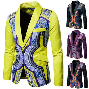 Man designers clothes 2020 new High quality luxe suit side multicolor bridegroom suit notched Lapel men's business suit Prom clothing men
