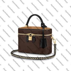 M42265 Bic BB M45165 PM borsa da borse da donna in pelle bovina cuoio canvas custodia a tracolla a tracolla