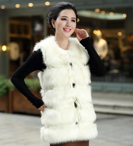 New women's clothing in the long imitation fur fur coat imitation vest mailed clothing bag used for travel