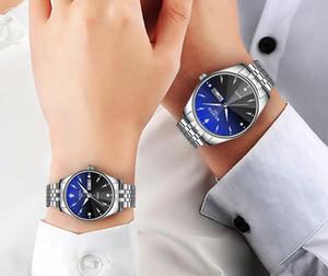 Wlisth 20201 Hombres Productos blancos de los hombres Venta caliente de la calidad de los amantes del reloj del reloj de la moda del reloj de los estudiantes ultra delgado.