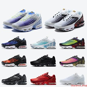 Maxes Sneakers Tn Plus 3 III Tuned Tn 3 Women Mens Shoes 2020 New Black Red Grey Purple White AIR Sneakers Trainers