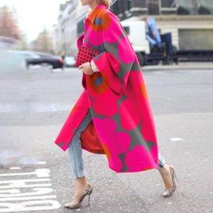 A1RML GUYI 2020 Новая печать мода женские GUYI 2020 новое пальто печать мода женское пальто