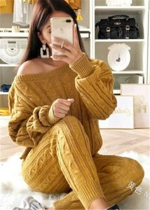 Retro Hot 2019 New Ladies Women's Suit Summer Sweater Joggers Plain Lounge Wear Tracksuit Lounge Wear Casual Loose Solid Sets Q0114