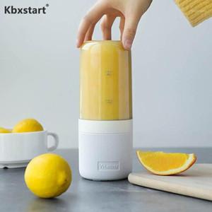 KBXstart 400ml Juicer portátil USB Recargable Multifunción Multifunción Mezclador Vegetal Jugo Copa Smoothie Maker Fruit Extractor1