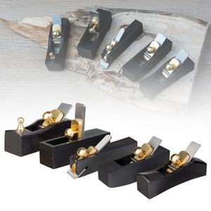 NAOMI 5PCS Ebony Wood Mini Plane Angle Plane Luthier Tool Hand Plane for Violin Viola Cello Violin Parts Accessories