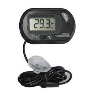 2017 neue LCD Digital Aquarium Aquarium Thermometer Temperatur Wasser Terrarium Schwarz Aquarien Aquarien Fis Qylnil Bdenet