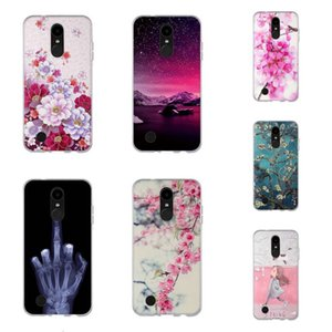 LG K4 Moda Dign Bainha de Silicone, LG K4 M160 / Phoenix 3 / Fortune / 1 Telefone Celular Capa, LG K4, Versão dos EUA