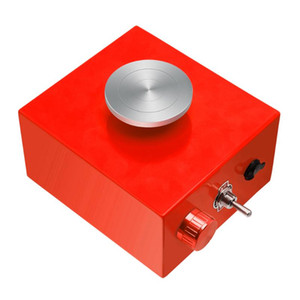 Pottery Wheel Mini Pottery Machine Electric Wheel con giradischi Strumento di argilla fai da te Plug UE USA