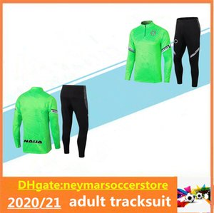 2020/21 Nigéria Chaletsuit Chaqueta Surtvetement 2020 2021 Nigéria Jogging Maillot de Fútbol Traje de entrenamiento