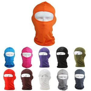 DHL Ship Sports Neck Face Mask Outdoor Balaclavas Cycling Sport Ski Mask Bicycle Cycling Mask Caps Motorcycle CS Windproof Dust Head Sets