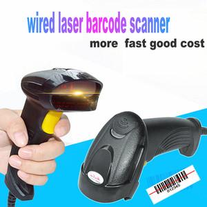 Scanner de código de barras do laser com fio EAN UPC Support Plug and Play USB2.0 Supermercado Logiistic